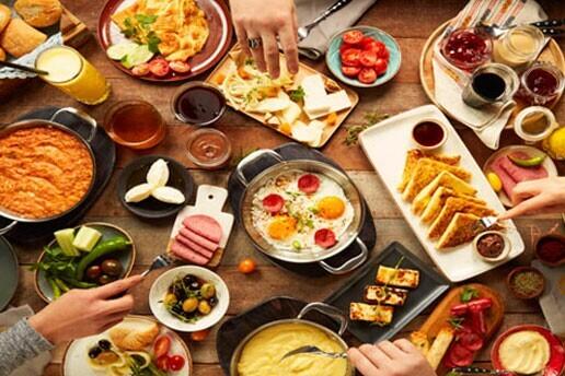 Bağdat Caddesi Coffee House'da Enfes Serpme Kahvaltı Menüsü
