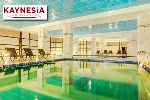Turgutlu Kaynesia Hotel'de Buhar Odası, Fin ve Türk Hamamı, Kapalı Havuzları İçeren SPA Alanı Kullanımı