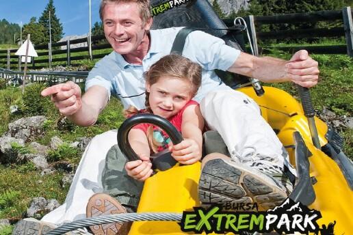 Extrempark'ta Serpme Kahvaltı / Pizza Manü ve Dağ Kızağı Eğlencesi