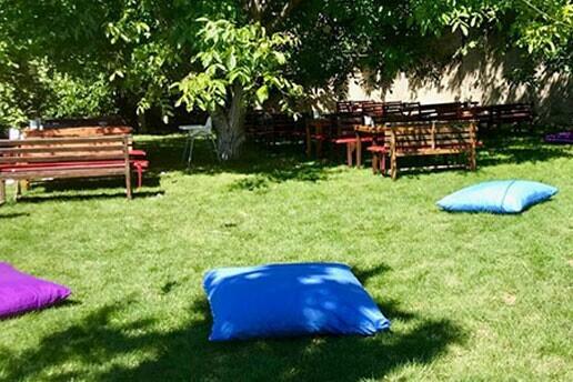 Beytepe Lezzet Sofrası'nda Yeşillikler İçinde Nefis Gurme Yemek Menüsü