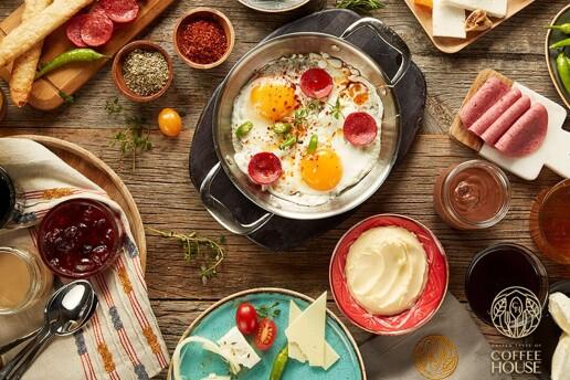 Coffe House Mad Kitchen'dan Leziz Serpme Kahvaltı Menüsü