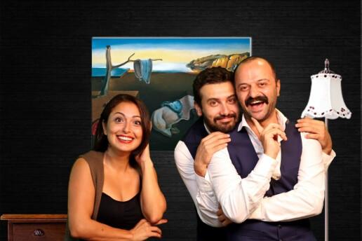 'Aman Ne Komik' Tiyatro Oyunu Bileti