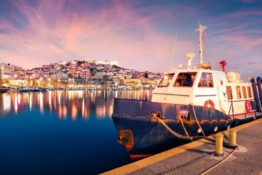 Her Cuma Hareketli 1 Gece 2 Gün Selanik, Kavala, Porto Lagos & Vistonida Gölü Turu