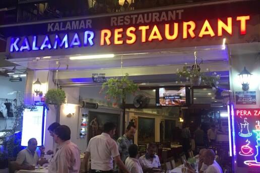 Kalamar Restaurant'tan Enfes Yemek Menüleri
