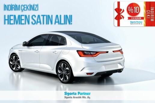 Kasko ve Trafik Sigortasında En İyi Fiyat Garantisine Ek Olarak; 12 Ay Geçerli +%10 İndirim Çeki!