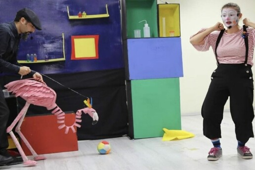 'Bir Bavul Üç Macera' Çocuk Tiyatro Oyunu Bileti