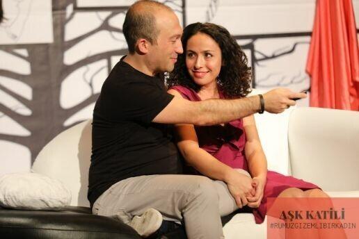 'Aşk Katili' Tiyatro Oyunu Bileti