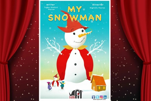 My Snowman Adlı İnteraktif İngilizce Çocuk Tiyatro Oyununa Bilet