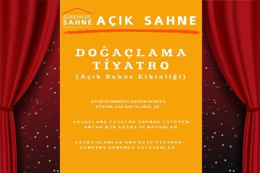 Açık Sahne 'Doğaçlama Tiyatro Gösterisi' Giriş Bileti