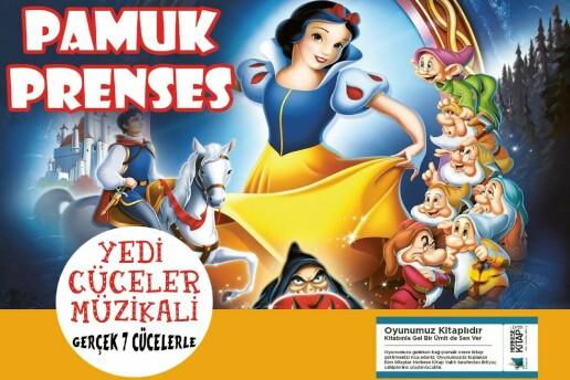 'Pamuk Prenses' Çocuk Tiyatro Oyunu Bileti