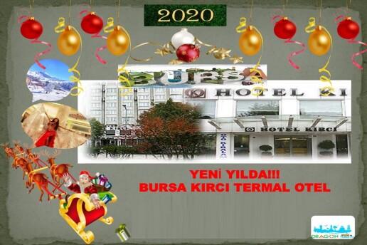1 Gece Kırcı Termal Otel Konaklamalı Yılbaşına Özel Uludağ Turu & Gala