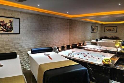 Mercure Hotel Matsu Spa'da Kese Köpük, Masaj ve Islak Alan Kullanımı