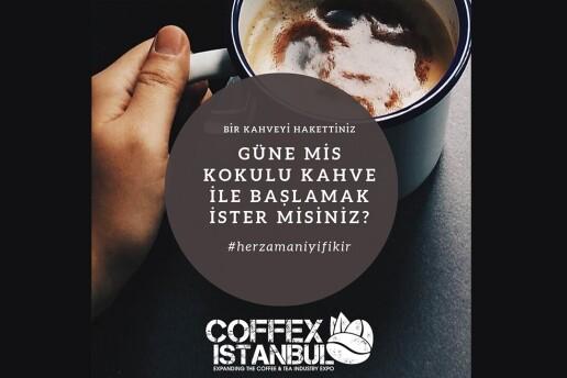 27 Şubat - 1 Mart Tarihleri Arasında Lütfi Kırdar Uluslararası Kongre & Sergi Sarayı'nda Coffex İstanbul Kahve Festivali Bileti