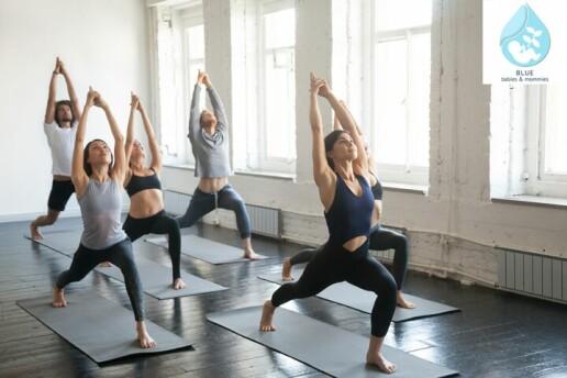 Açılışa Özel Bağdat Caddesi Blue Babies & Mommies Yoga Eğitimi