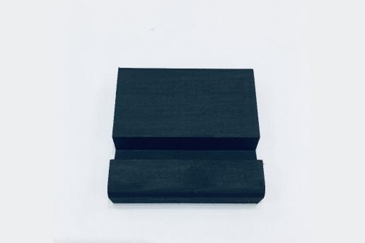 Ahşap Siyah Renkli Telefon Standı