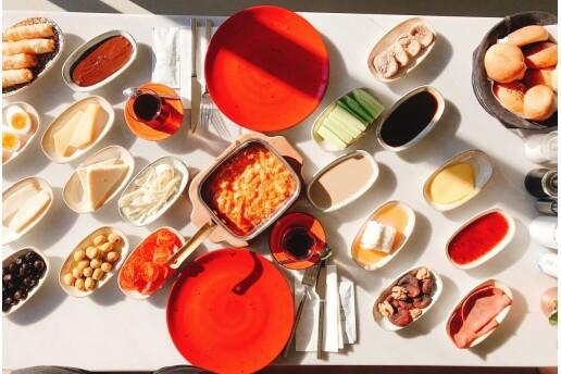 İnci Cafe Etiler'den 2 Kişilik Serpme Kahvaltı Menüsü