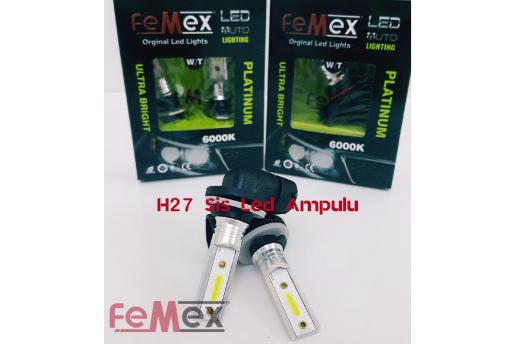 Femex H27 Sis Led Ampul Beyaz Sis Farları İçin Mükemmel Ürün