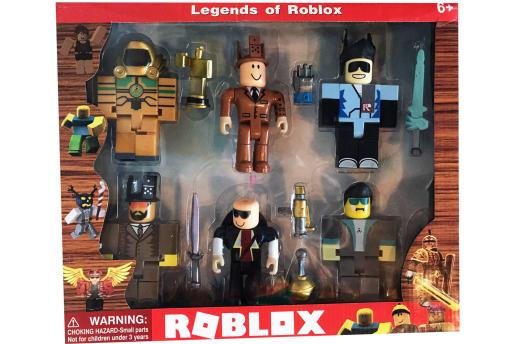 Roblox, Mega Boy Oyuncak Figür Set - 6 Figürlü Ve Aksesuarları