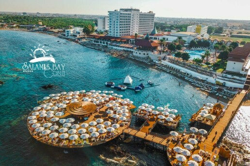 Kıbrıs Salamis Bay Conti'de Erken Rezervasyon Yaz Tatili Paketleri