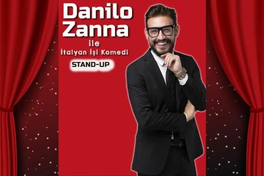 'Danilo Zanna ile İtalyan İşi Komedi' Stand Up Bileti