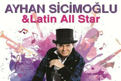 29 Şubat Ayhan Sicimoğlu Latin All Stars Bostanlı Suat Taşer Tiyatrosu Konser Bileti