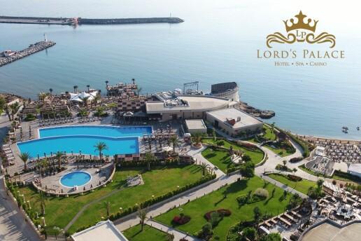 Kıbrıs Girne 5 Yıldızlı Lord's Palace Hotel'de Erken Rezervasyon Yaz Tatili Paketleri
