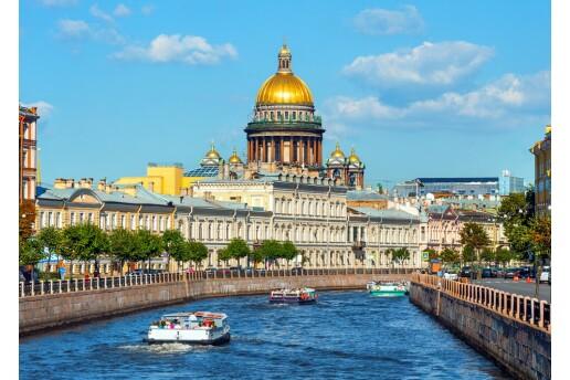 Yaz Döneminde Uçak Bileti Dahil 5 Gece 6 Gün Konaklamalı Rusya Masalı Turu