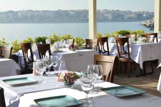 Kalamış Paysage Restaurant'ta 21 Şubat Ayta Sözeri Sahnesi Eşliğinde Limitsiz Alkollü Denize Nazır Gala Yemeği
