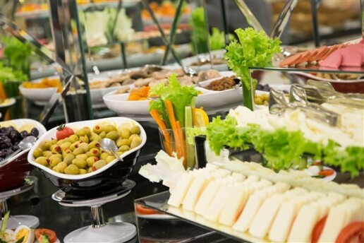 Ruba Palace Thermal Hotel'de Enfes Açık Büfe Kahvaltı Keyfi