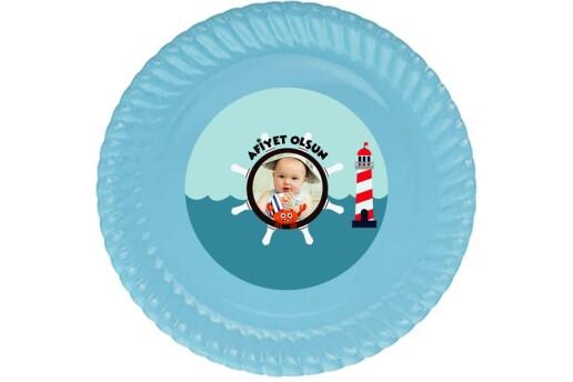 Kişiye Özel Denizci Konsepti Doğum Günü Parti Seti (Mini)