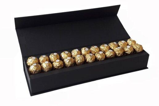 Özel Tasarım Kutusunda Enfes Çikolatalar - Turuncu