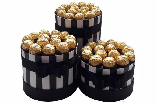 Tasarım Kutularında Enfes Çikolatalar Premium Set