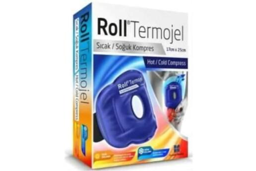 Roll Termojel Diz Bacak Sıcak Soğuk Kompres 17X25Cm Kompress