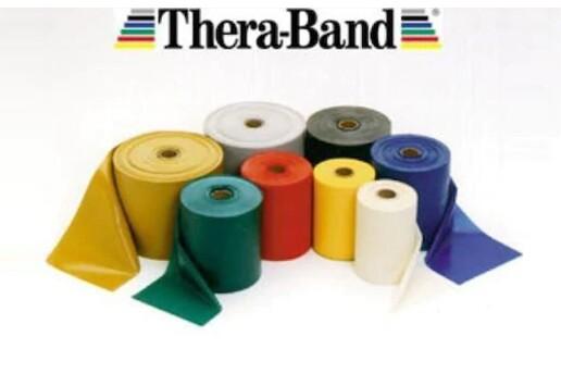 TheraBand Egzersiz Bandı Pilates Bandı Lastiği 1.5 Metre Kesme