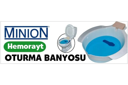 Minion MN-917 Hemoroid Basur Küveti Oturma Banyosu