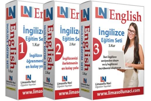 LN İngilizce Eğitim Seti 3 Kur Bir Arada
