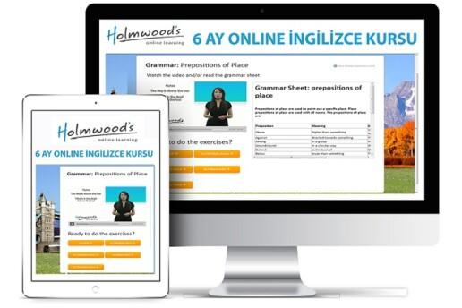 Holmwood's Premium Online İngilizce Kursu 6 Ay