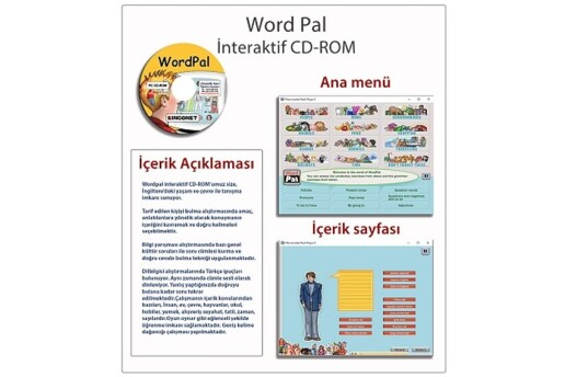 Çocuklar İçin İngilizce Eğitim Seti
