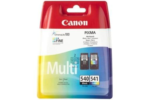 Canon Pg-540Bk + Cl-541 2'Li Paket Mürekkep Kartuş