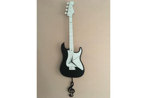 Goodtime Bas Gitar Dekoratif Sarkaçlı Duvar Saati