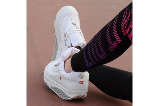 Perfect Steps Günlük Spor - Zayıflatıcı Beyaz Yürüyüş Ayakkabısı