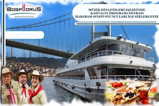 Bosphorus Organization İle Her Pazar Boğaz Turu Eşliğinde Müzikli Serpme Kahvaltı Keyfi