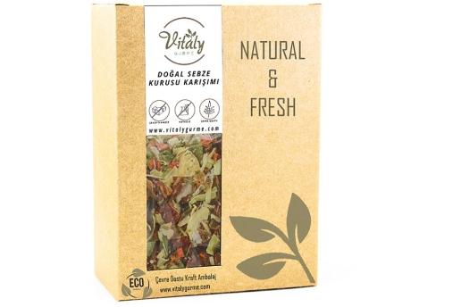 Vitaly Gurme Doğal Sebze Kurusu Karışımı 100 G