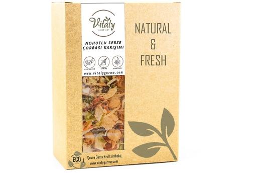 Vitaly Gurme Doğal Nohutlu Sebze Çorbası Karışımı 100 G