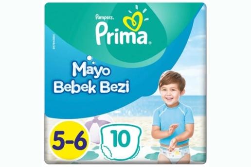 Prima 5-6 Numara Mayo Bebek Bezi 14+ Kg Maxi 10 Adet