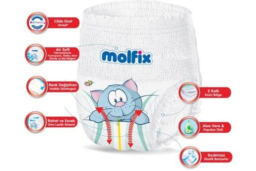 Molfix 5 Numara Külot Bez Junior 12-17 Kg Süper Fırsat Paketi 60 Adet