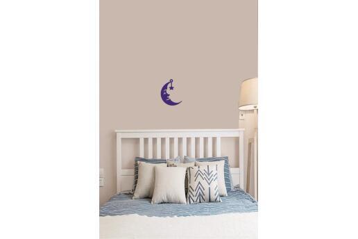 Bebek Çocuk Odası Duvar Koleksiyonu Aydede Mavi