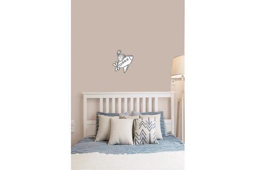 Bebek Çocuk Odası Duvar Koleksiyonu Beyaz Denizaltı