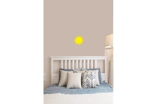 Bebek Çocuk Odası Duvar Koleksiyonu Sarı Güneş