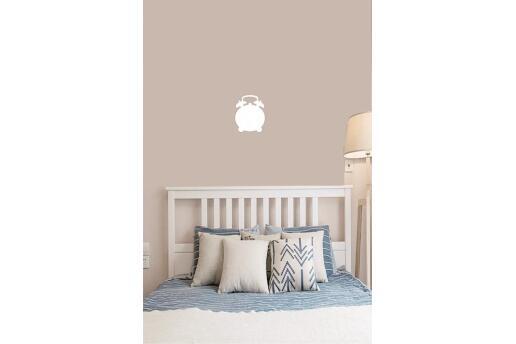 Bebek Çocuk Odası Duvar Koleksiyonu Beyaz Saat